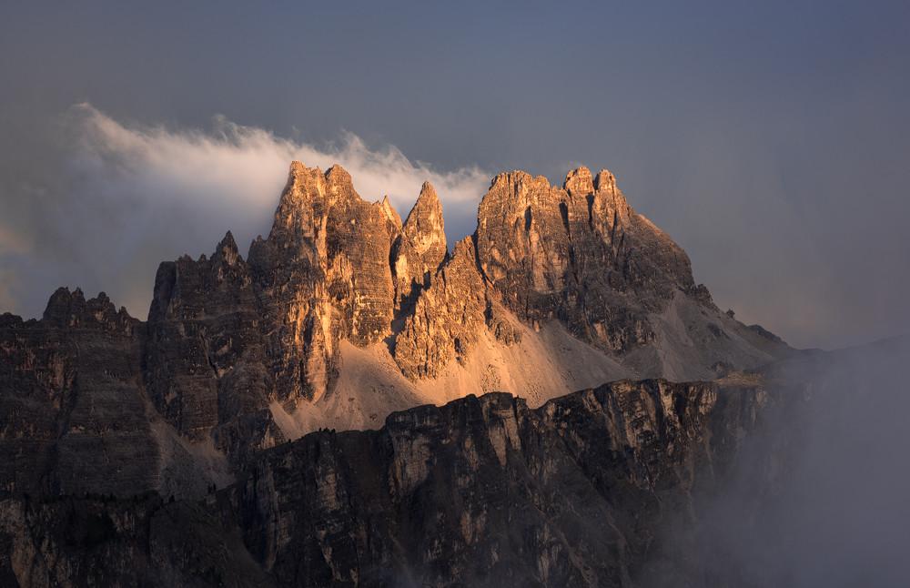Dolomites Sunset Peaks