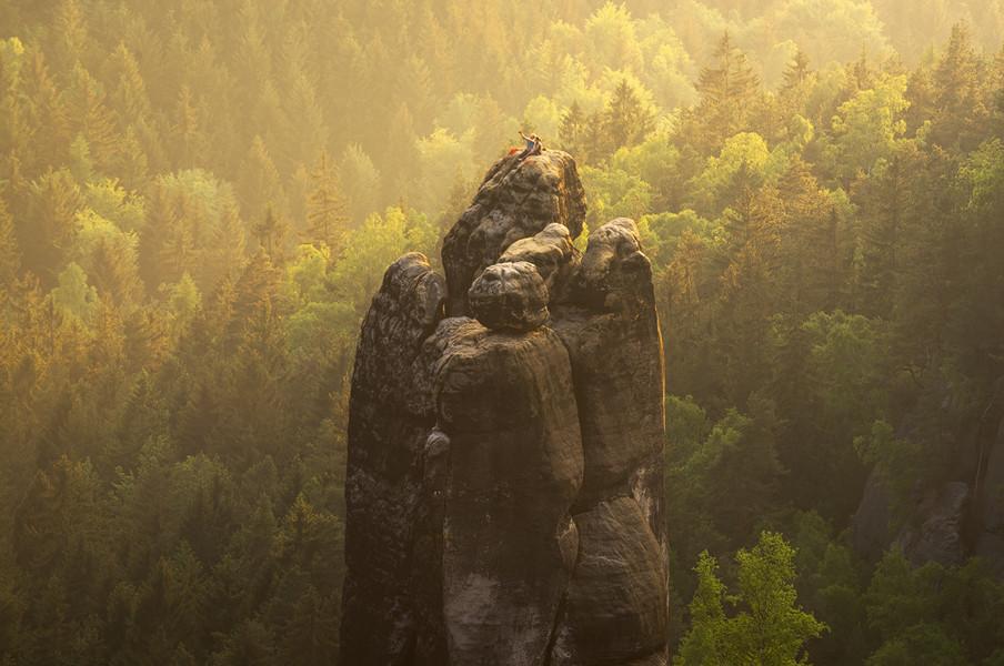 Saxon Switzerland Climbers