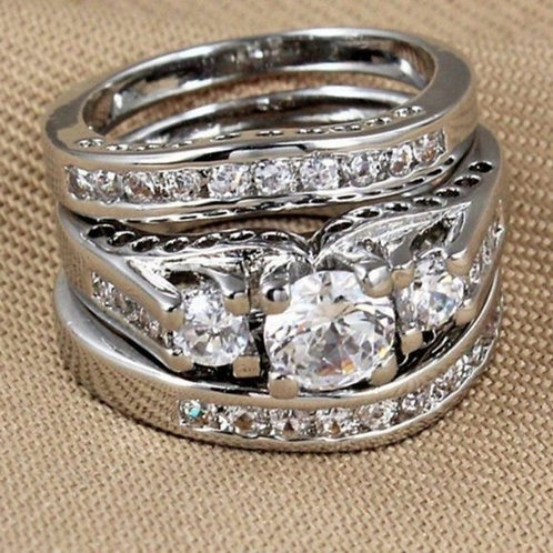 Past Present and Future Wedding Ring Size 12