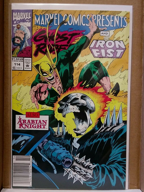 Marvel Comics Presents Ghost Rider and Iron Fist # 114 1992
