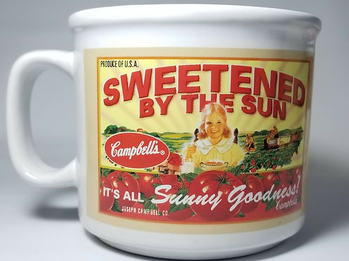 Campbell's Coffee Mug Cup 2005 Delicious Vegetables Sweetened By The Sun Soup