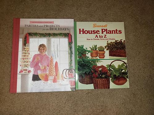 Book Lot Martha Martha Stewart House Plant