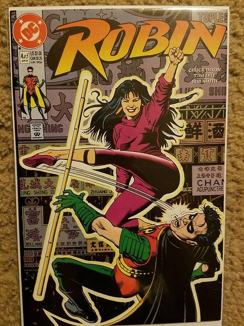 Robin #4 (April 1991, DC) Comics