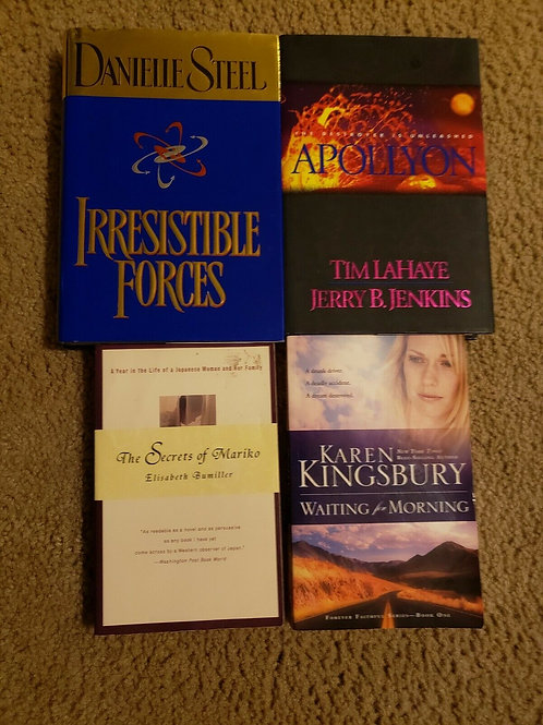 Book Lot Mixed Danielle Steel And More