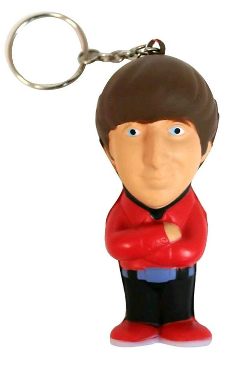 The Big Bang Theory Howard Wolowitz Stress Toy Key Chain Ring Warner Brothers