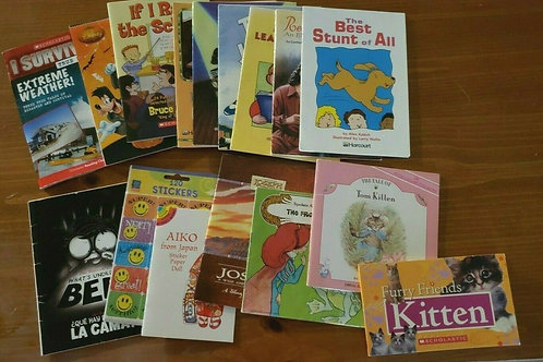 Book lot Harcourt and more Learning Readers 15 plus books lever 3 to 5