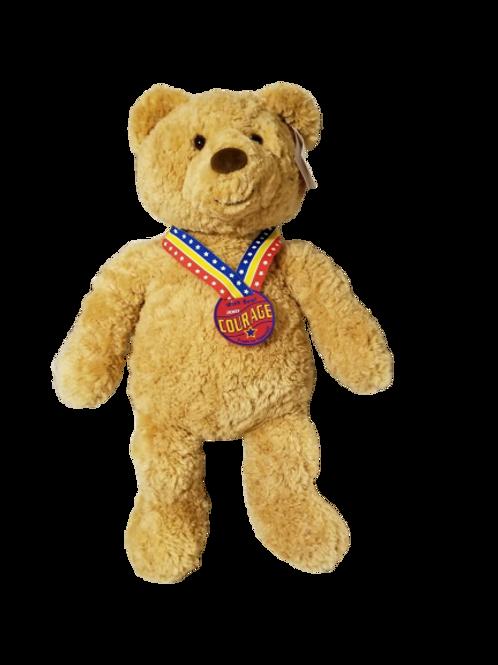 Gund Courage 2003 Teddy Bear Brown Wish Teddy Bear Large Plush