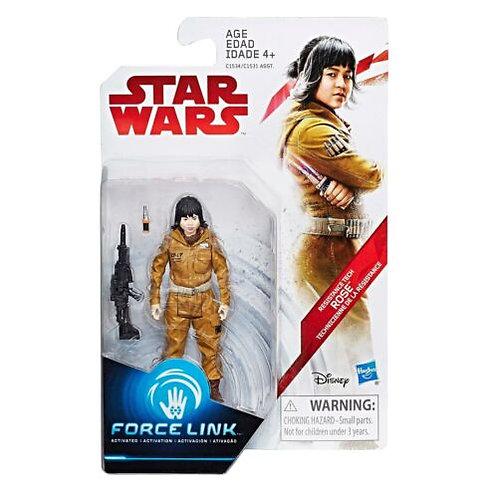 Star Wars Resistance Tech Rose Force Link Action Figure 2017