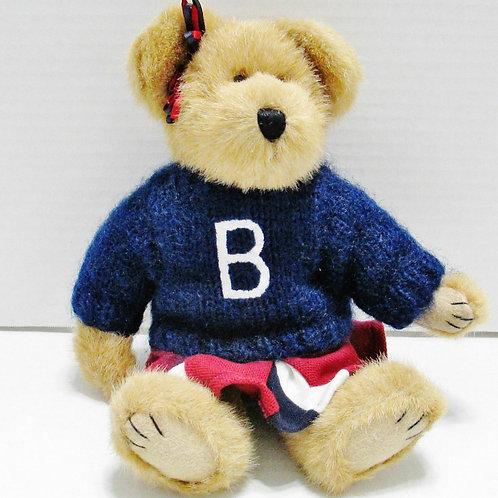 Boyd's Bear Tami P Rally Cheerleader Teddy Bear Brown