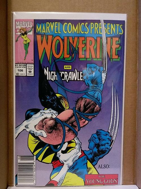 Marvel Comic Presents Wolverine # 106 1992