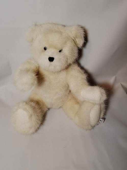 Boyds Bear White rare 1988-2006 Jointed White Tag