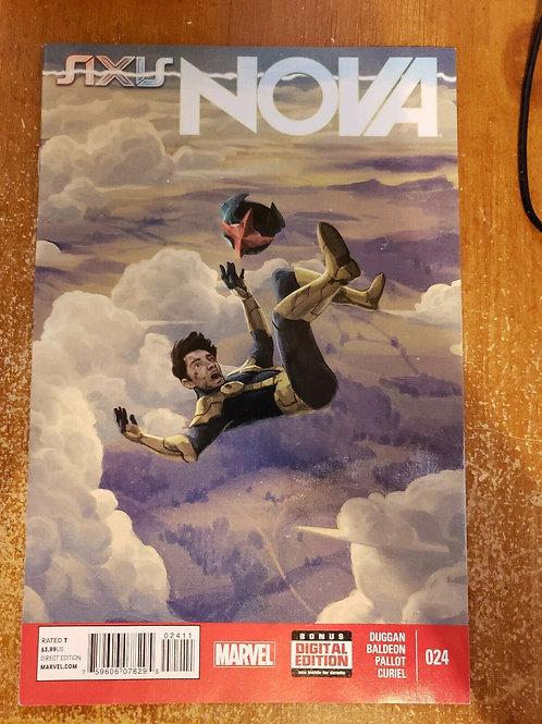 Nova # 24 January 2015 Marvel Comics