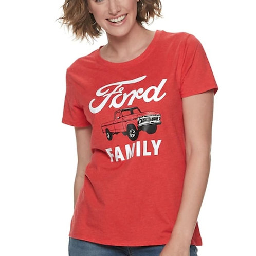 Ford Family Graphic T- Shirt 2XL NWT