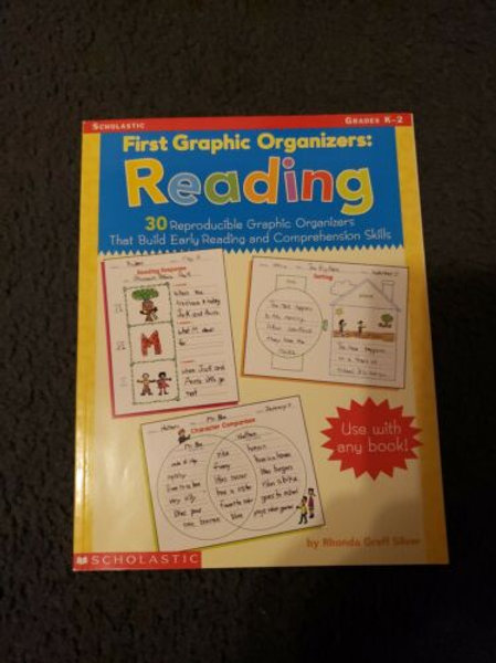 Scholastic First Graphic Organizers Reading Grades K-2 Paperback