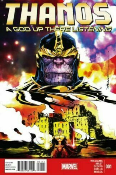 Marvel Thanos A God up there listening 001 December 2014