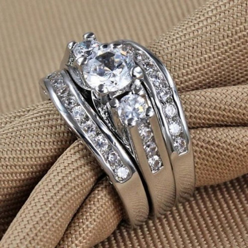 Past Present and Future Wedding Ring Size 10