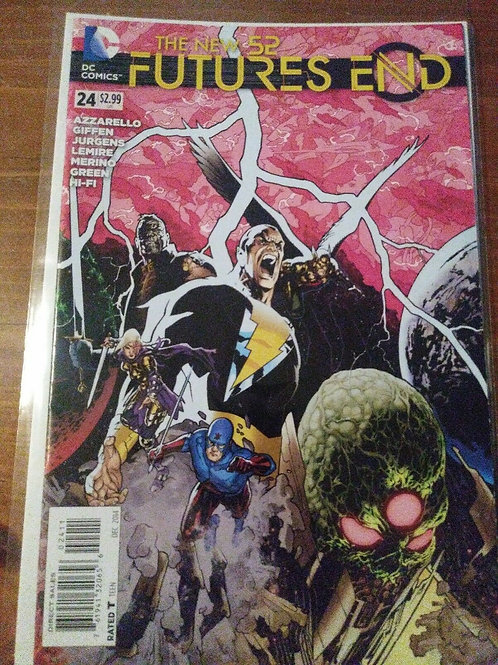 The new 52 Futures End #24 December 2014