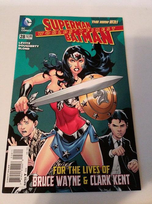 DC The New 52 Superman Batman #28 Bruce Wayne Clark Kent January 2015