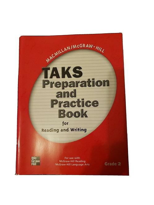 Taks Preparation and Practice Book for Reading & Writing Grade 2