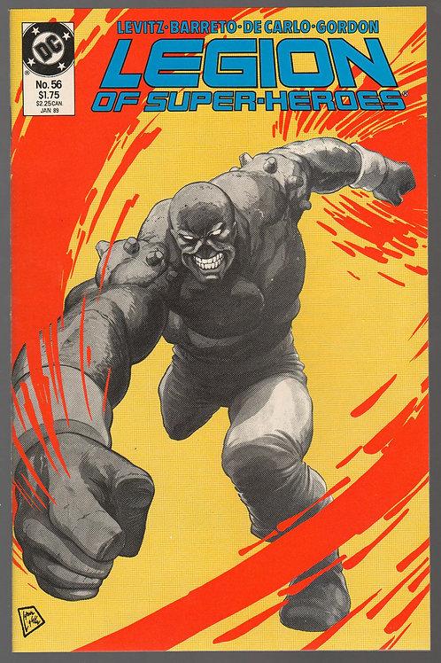 Legion of Super-Heroes #56 (Jan 1989, DC)