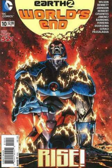 Earth 2 Worlds End # 10 February 2015 DC Comics