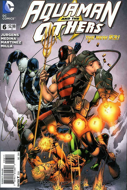 Aquaman and the Others #6 December 2014 DC Comics