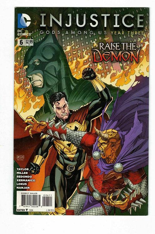 Injustice Gods among us Year three #6 Feb 2015 DC Comic