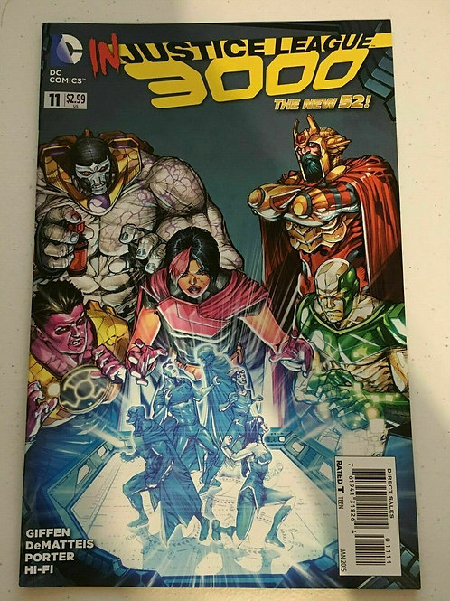 InJustice League 3000 #11 DC Jan 2015 The New 52