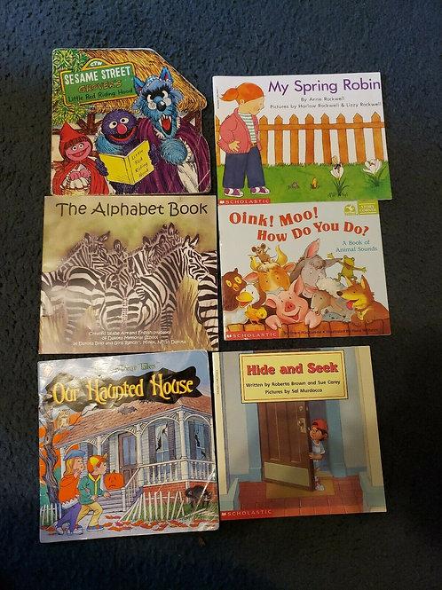 Book lot Kids Sesame Street Alphabet and More Paperback