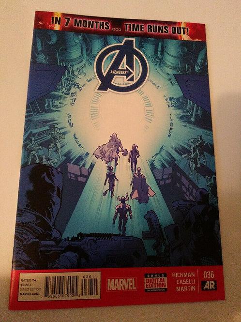 Marvel Avengers #36 December 2014