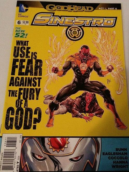 DC Comics God Head Sinestro #6 December 2014