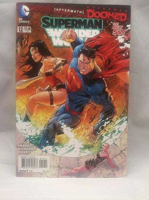 Superman Wonder Woman #12 Vol 1 Dec 2014 New 52 DC Comics Tony Daniel C. Soule