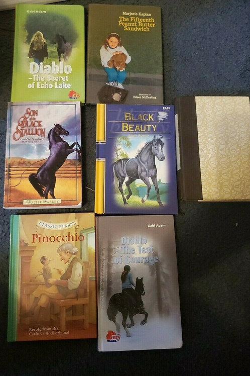 Book Lot Classic Storybook Stories Black Beauty Readers Digest Black Stallion