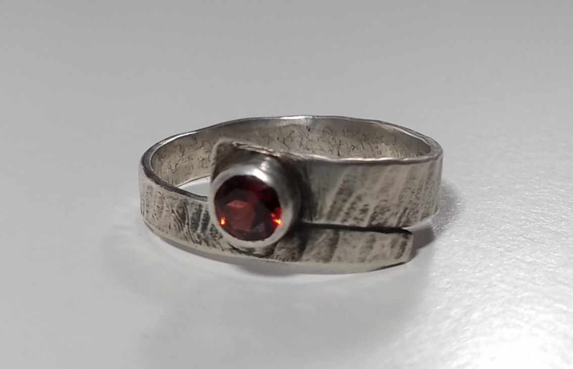 Garnet 'Pirate' Ring