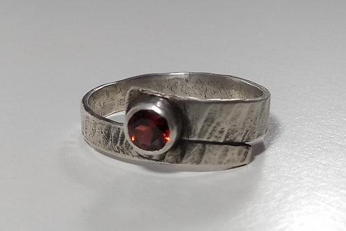 Garnet 'Pirate' Ring