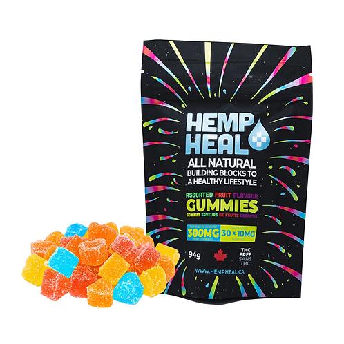 Hemp Heal Gummies - 300mg