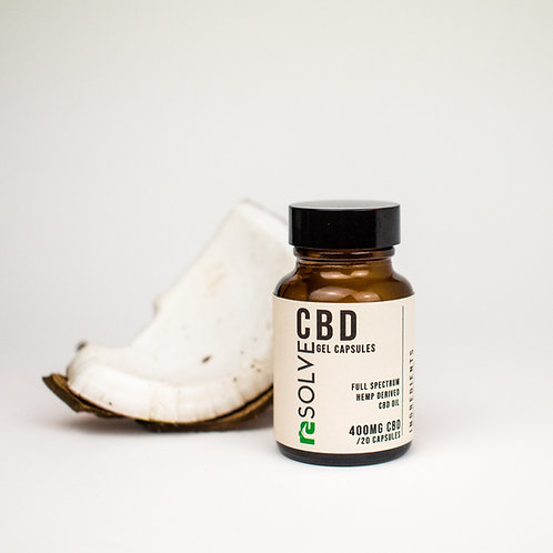 resolveCBD Capsules - 400mg