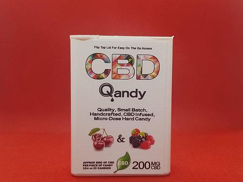 Qandy - CBD Infused Hard Candies (200mg)