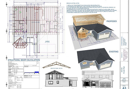 Residential building plans