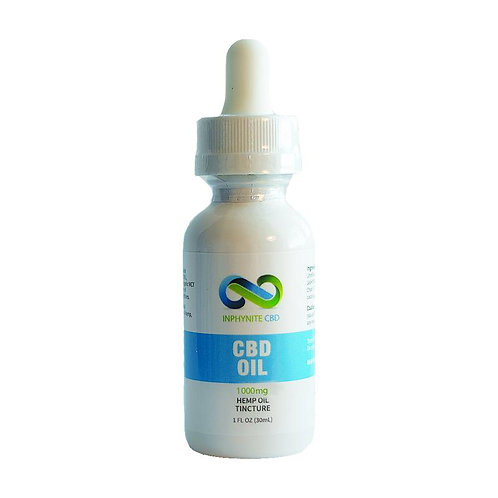 Inphynite CBD Hemp Oil Tincture - 1000mg