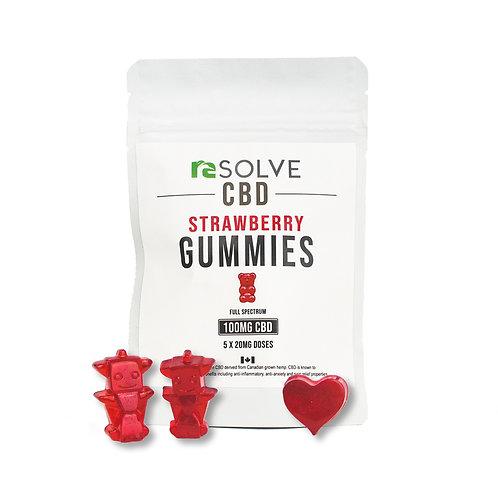 resolveCBD Gummies - 100mg