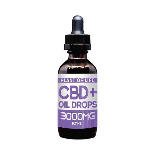 Plant of Life CBD Oil Drops - 3000mg
