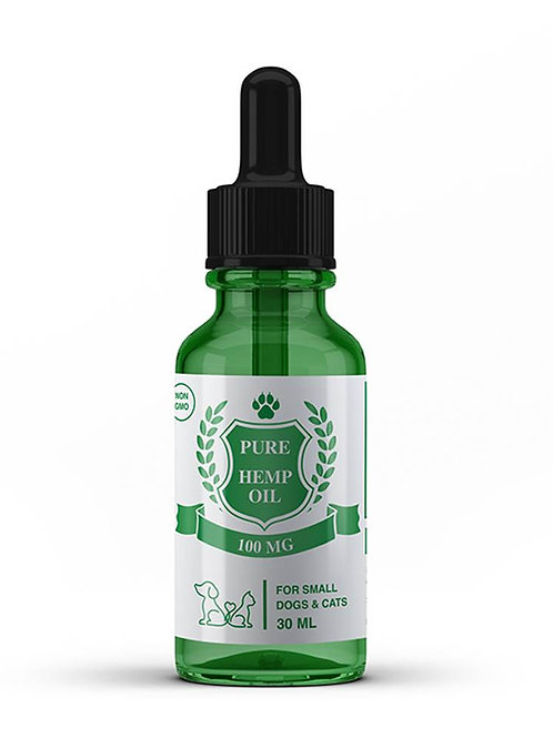 iBliss Hemp Oil for Pets (100mg)