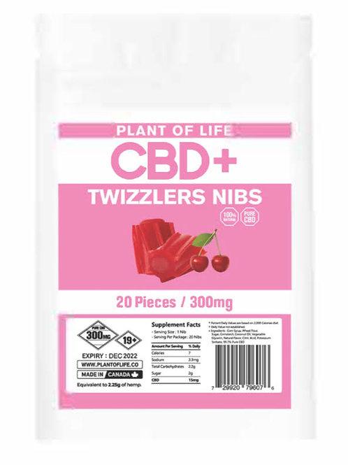 CBD Twizzlers Nibs 300mg