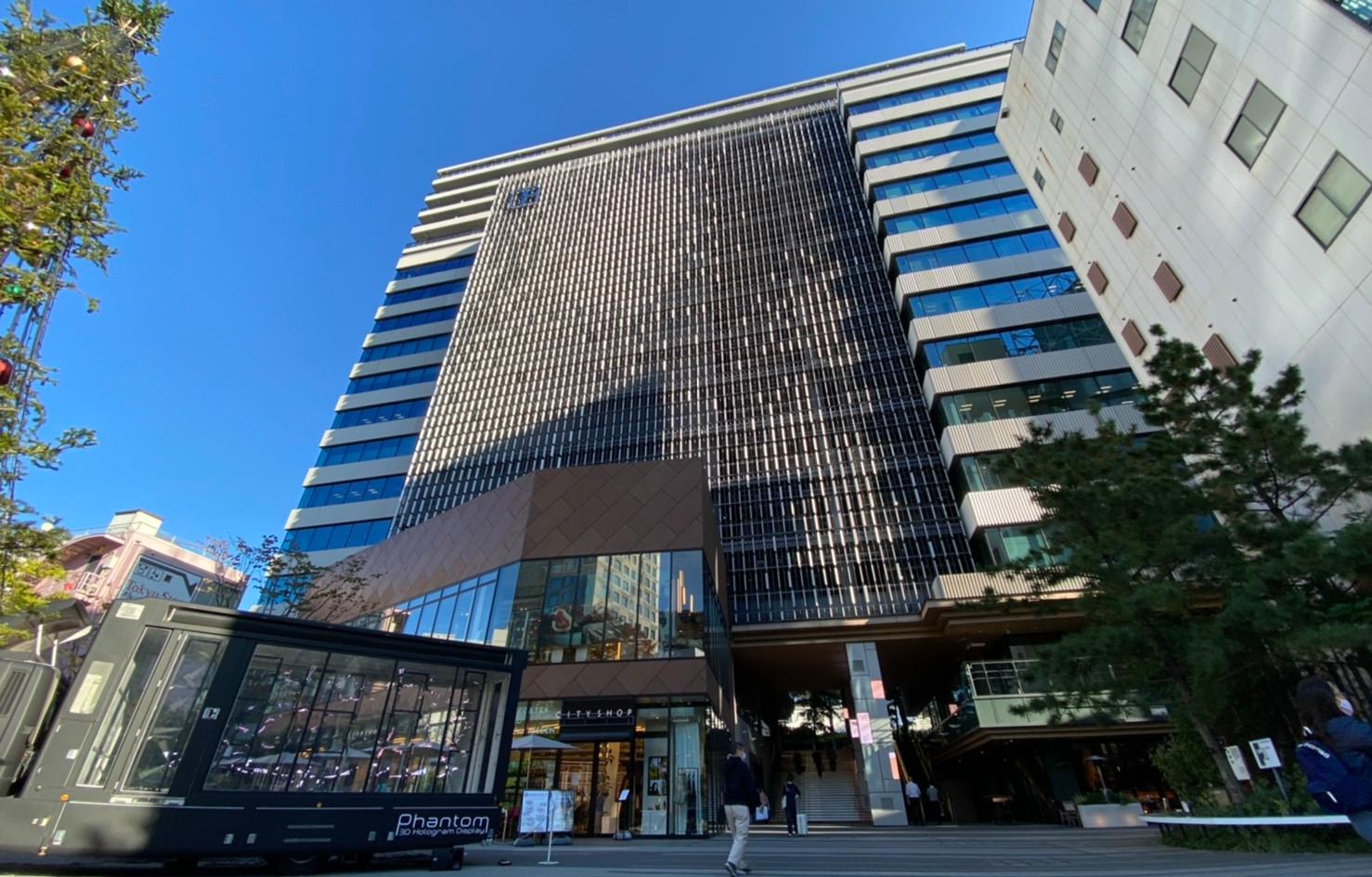 渋谷キャスト @大階段脇の建物入り口