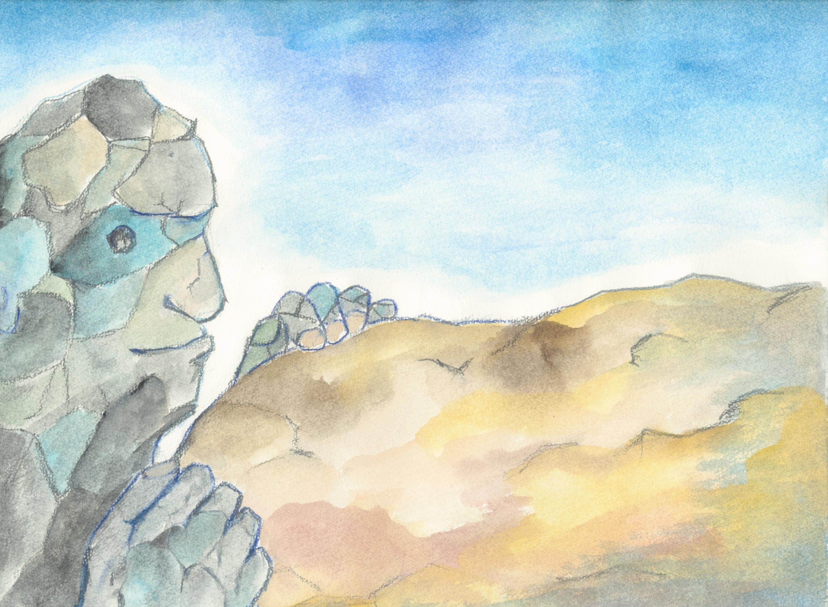 砂の巨人のワンシーン