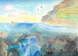 碧の島の海