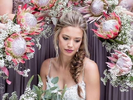 Pastel & Protea wedding simplicity