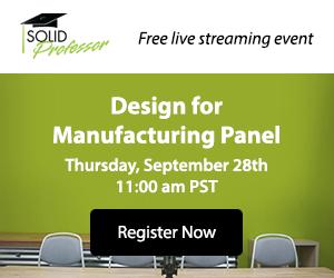 SolidProfessor.com - Design for Manufacturing
