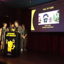 Designer Toy Awards - Scary Girl